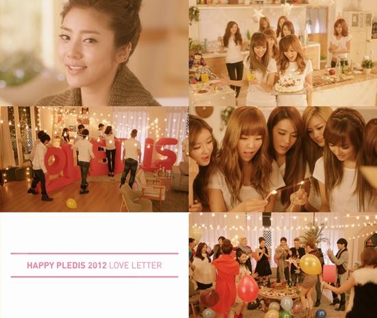 MV 2012 HAPPY PLEDIS LOVE LETTER