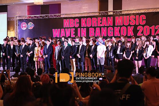 2012 Korean Music Wave in Bangkok