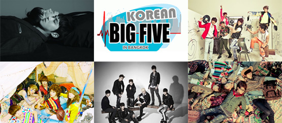 Korean Big 5 in Bangkok