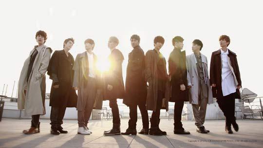 Super Junior Boys in City Season 4 Paris