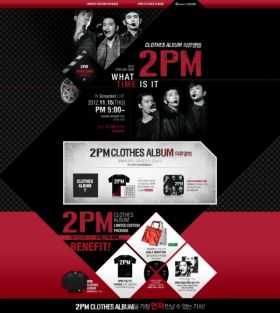 2PM Clothes Album
